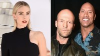 Vanessa Kirby Jason Statham and The Rock Hobbs & Shaw