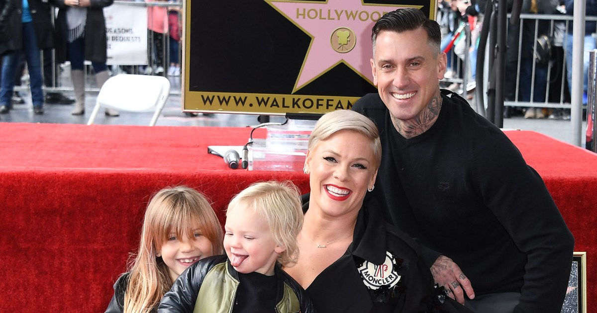 Pink Claps Back at Mom-Shamers Over Her Kids Running at Memorial