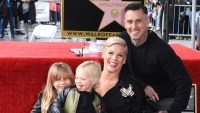 Pink Claps Back at Mom-Shamers Over Her Kids Running Through Holocaust Memorial