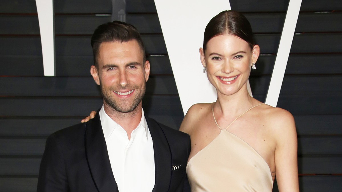 Behati Prinsloo Posts Rare Pic Cuddling With Her and Adam Levine's Daughters Dusty, 2, and Gio, 18 Months