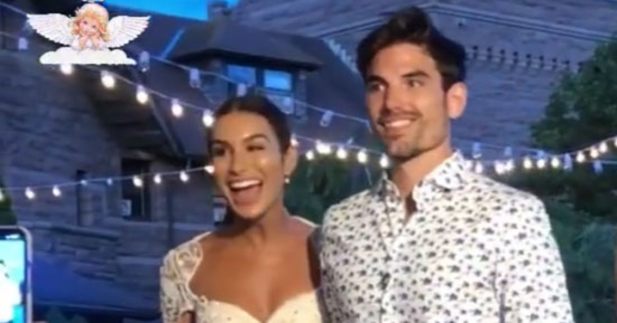 Ashley I. and Jared Celebrate Rehearsal Dinner With Bachelor Nation Pals