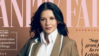 Catherine Zeta-Jones and Cary Zeta Douglas Twinning Vanity Fair Spain September 2019
