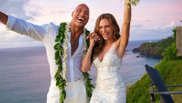 Dwayne Johnson and Lauren Hashian Wedding August 18, 2019