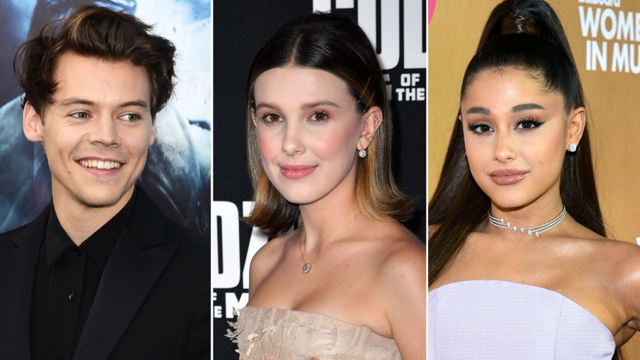 Harry Styles and Millie Bobby Brown Dance at Ariana Grande's Concert