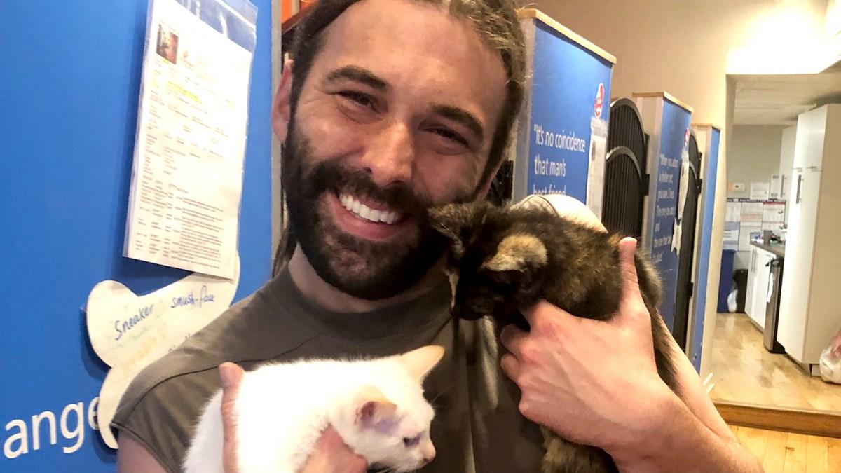 Queer Eye's Jonathan Van Ness Adopts 2 Kittens After His Cat Dies: Photos