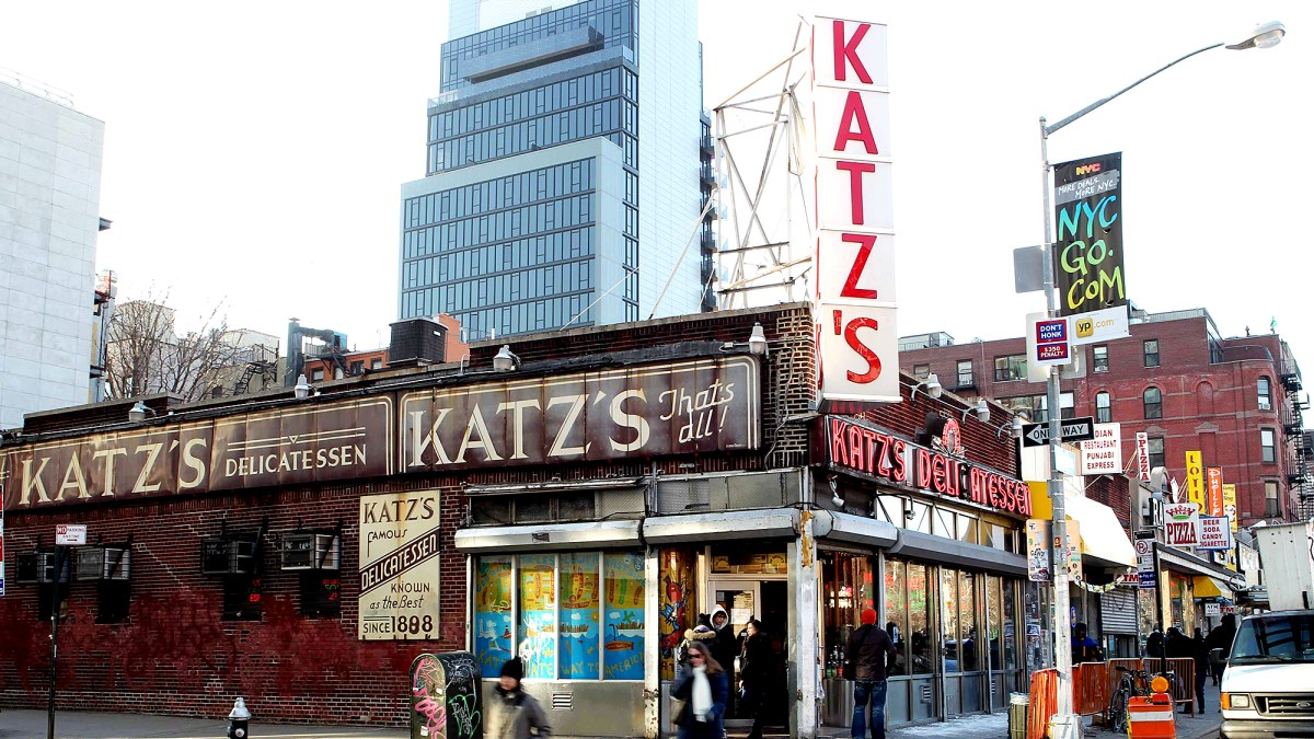 Katz's Deli Is Joining Uber Eats and the Restaurant's Iconic Pastrami Sandwich Is Going on Tour to Celebrate