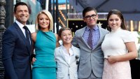 Kelly Ripa, Mark Consuelos and Family October 12, 2015