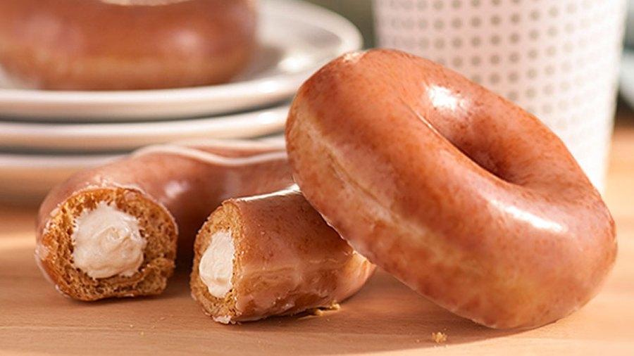 Krispy Kreme Debuts New Pumpkin Spice Doughnut Filled With Cheesecake