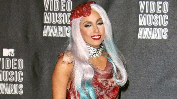 Lady Gaga Craziest VMA Looks - 2010 VMAs September 12, 2010
