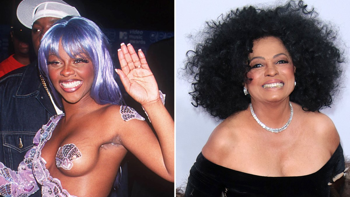 Look Back at Lil' Kim and Diana Ross' Epic 1999 MTV VMAs Moment