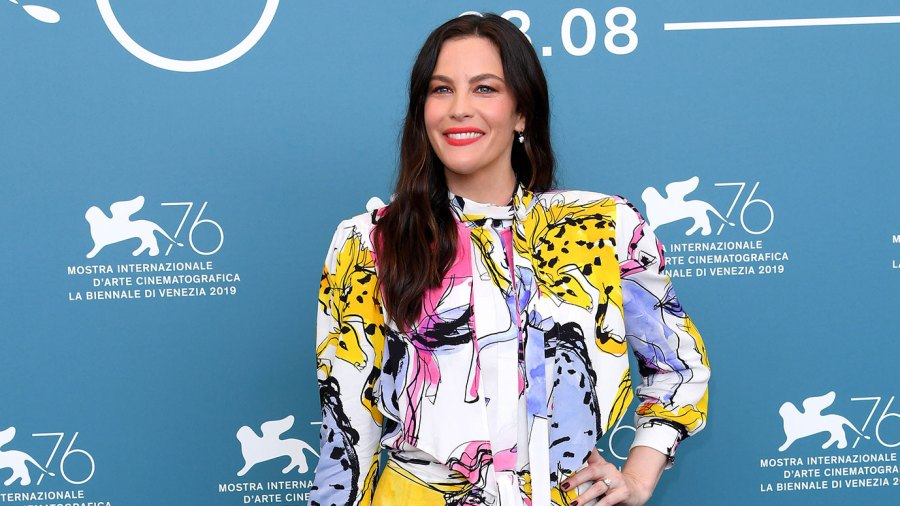Liv Tyler Wearing Stella McCartney Colorful Dress No Desire to Get Married