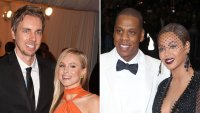 Met Gala Dax Shepherd and Kristen Bell and Jay Z and Beyonce