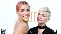 Michelle Williams Busy Philipps Daughters Call Each Other God Sisters
