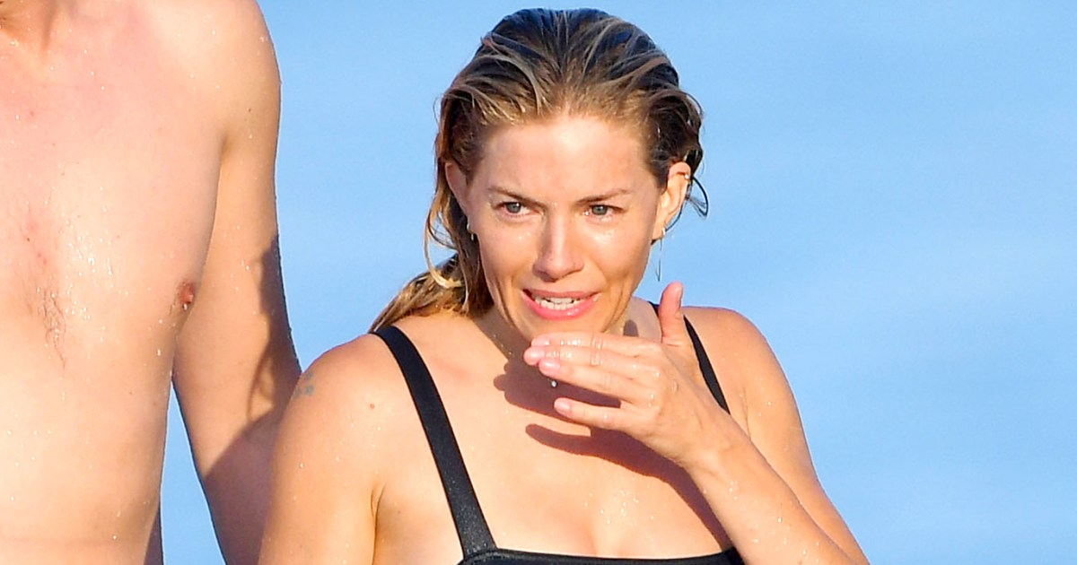 Sienna Miller Shows Off Her Incredible Beach Body on Vacation With Boyfriend Lucas Zwirner