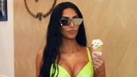 Stars Scream For Ice Cream Kim Kardashian