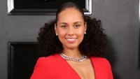 Alicia Keys Red Dress Global Citizen Festival