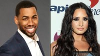 Bachelorette's Mike Johnson Likes Demi Lovato Bikini Pic Amid Dating Rumors