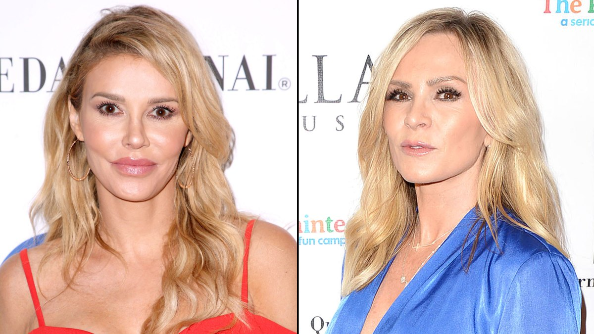 Real Housewives of Beverly Hills' Brandi Glanville and Tamra Judge Slam Each Other on Twitter After 'Sex Train' Episode