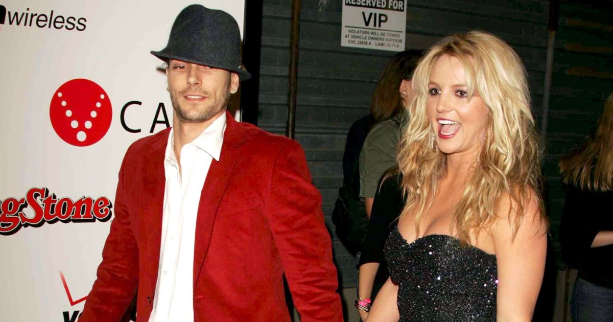 Juicy Tracksuits and All! Revisit Britney and K-Fed's Wedding 15 Years Later