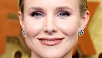 Getting Kristen Bell Colorful Emmys Eyeshadow