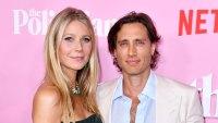 Gwyneth Paltrow and Brad Falchuk Post Instagram Selfie One Year Anniversary