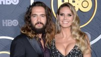 Heidi Klum Reveals What Her Kids Think About Her Husband Tom Kaulitz Emmys 2019 Wedding Ring