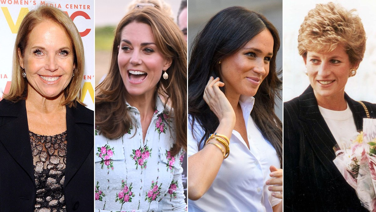 Katie Couric: Duchesses Kate and Meghan 'Exhibit the Best of Diana's Qualities'
