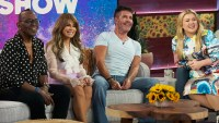 Randy Jackson, Paula Abdul, Simon Cowell on The Kelly Clarkson Show