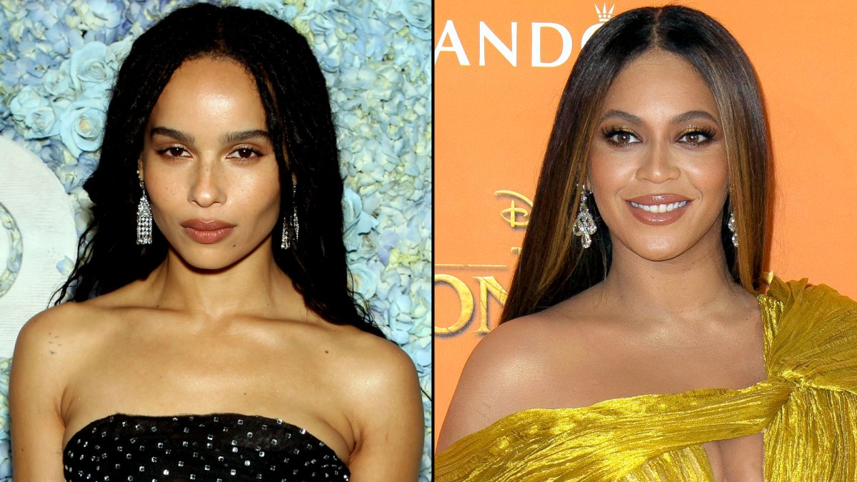 Zoe Kravitz Hilariously Reacts to Beyonce's Lisa Bonet Tribute Photo: 'Is Beyonce Also My Mom?'