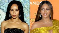 Zoe Kravitz Reacts to Beyonce's Lisa Bonet Tribute Photo