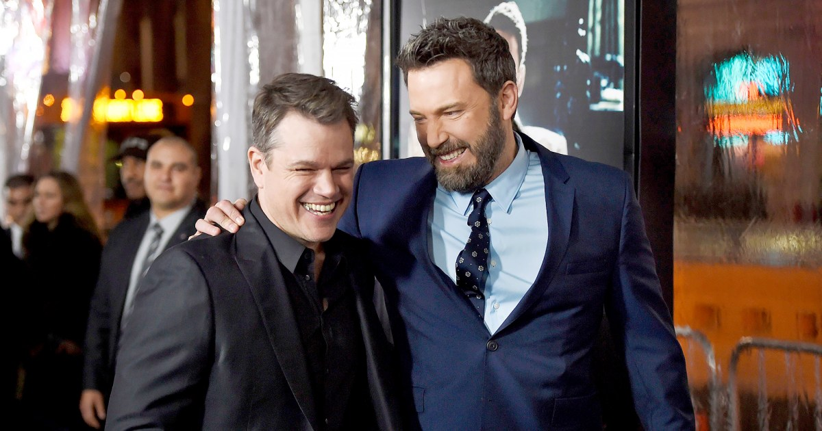 Matt Damon and Ben Affleck's Bromance Through the Years