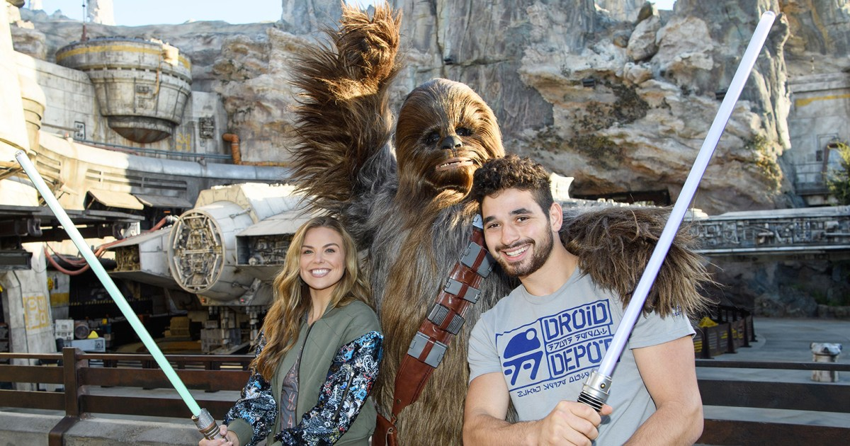 'Dancing With the Stars' Cast Hit Up Rides and Visit Cinderella Castle: Inside Their Disneyland Trip