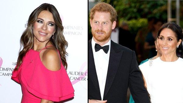 Elizabeth Hurley Reveals She Met Duchess Meghan Before Prince Harry