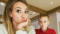 Hilary Duff and son Luca Instagram