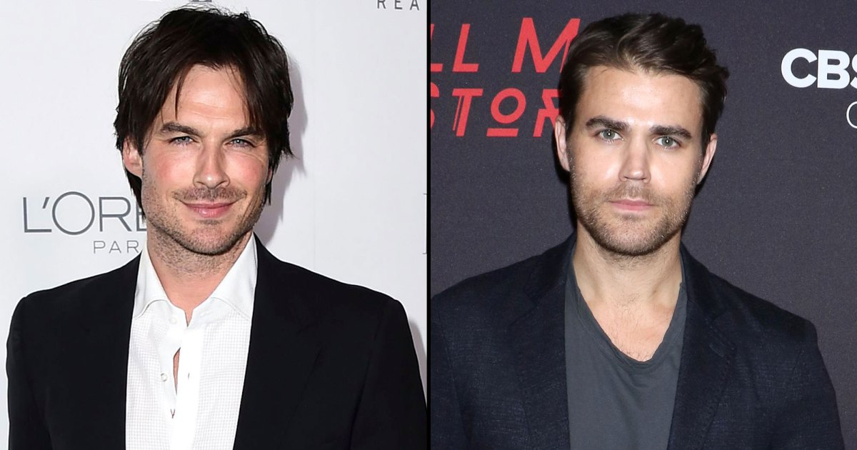 Stars Who Released Liquor Brands Together: Ian Somerhalder and Paul Wesley, Brad Pitt and Angelina Jolie and More