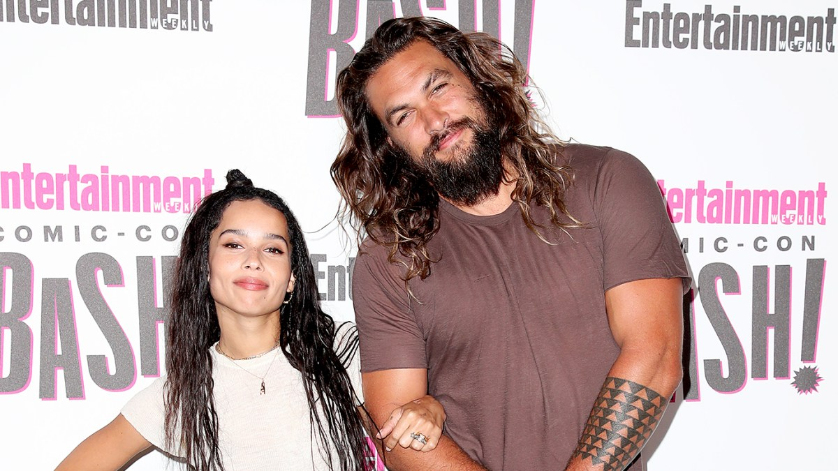 Jason Momoa Congratulates Stepdaughter Zoe Kravitz on 'Batman' Movie Role: Aquaman and Catwoman 'Spend the Holidays Together'