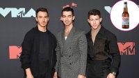 Jonas Brothers Bros Kevin Jonas, Joe Jonas and Nick Jonas Coors Light Beer