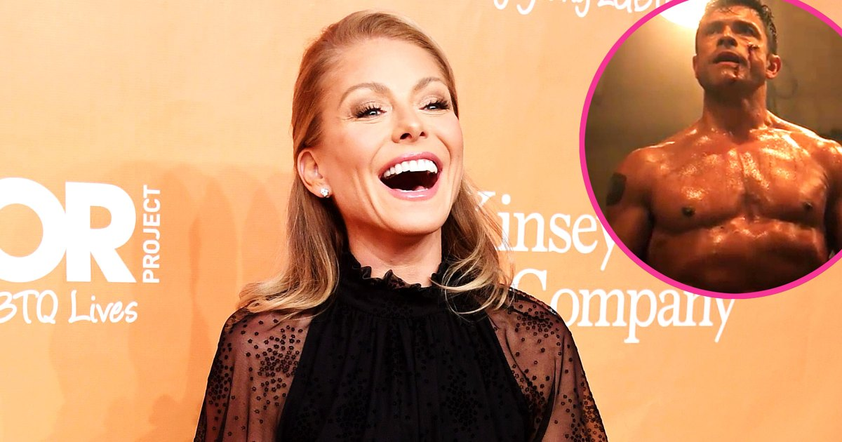 Kelly Ripa Jokes Mark Consuelos Used Cooking Spray in Shirtless Scene
