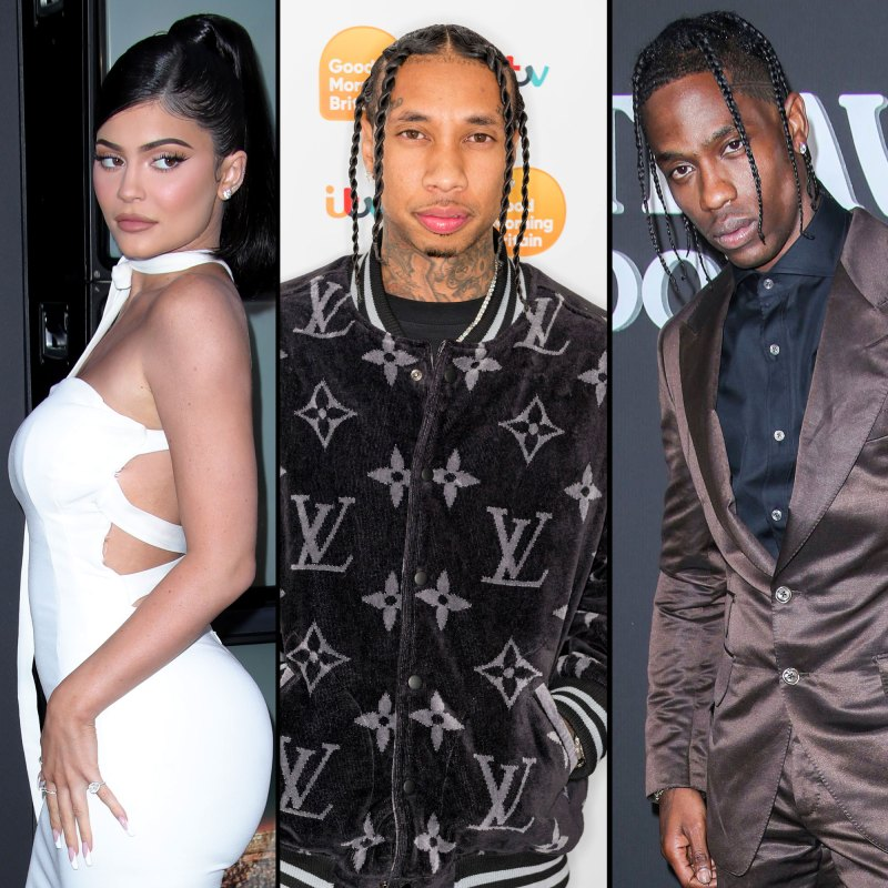 Image result for images of Kylie Jenner spotted at ex-boyfriend Tyga's studio