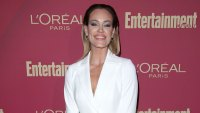 Peta Murgatroyd White Suit Jacket No Pants Cried While Receiving American Citizenship