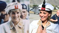 Princess Diana and Kate Middleton Pakistan Tour Hat October 16, 2019