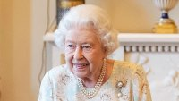 Queen Elizabeth Floral Frock October 17, 2019