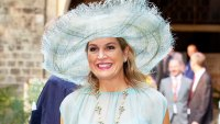 Queen Maxima Pale Blue Look October 16, 2019