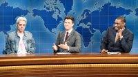 Saturday Night Live' Pete Davidson Returns, Jokes About Absence
