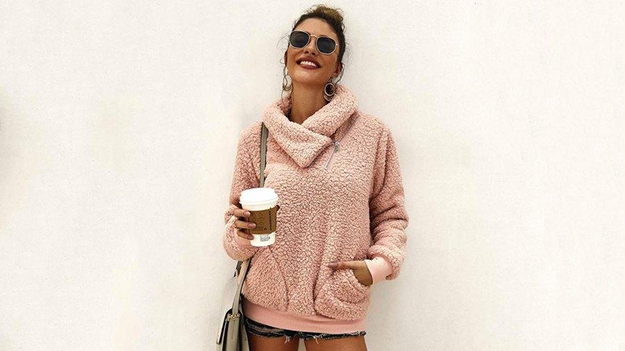 KIRUNDO shaggy sweatshirt