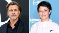 Brad-Pitt,-Alia-Shawkat-Are-Not-Dating