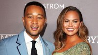 Chrissy Teigen Gets Real About Her and John Legend Diaper-Changing Disasters