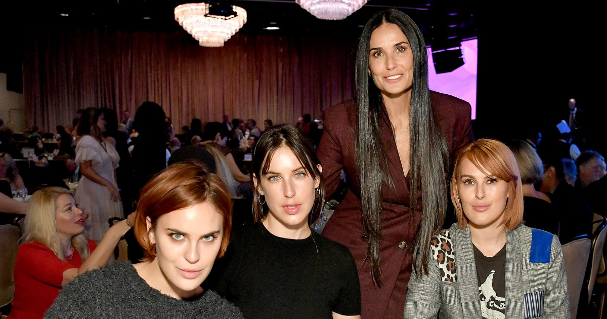 Demi Moore And Daughters Discuss Her Relapse A Monster Came