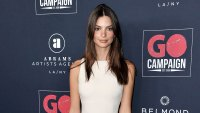 Emily Ratajkowski 13th Annual Go Gala White Short Dress