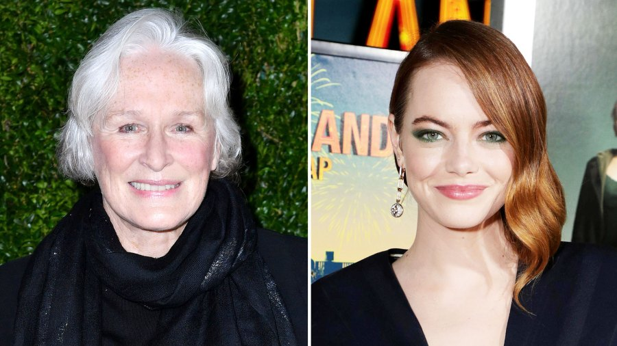 Glenn Close Cant Wait to See Emma Stone Succeed Her as Cruella de Vil